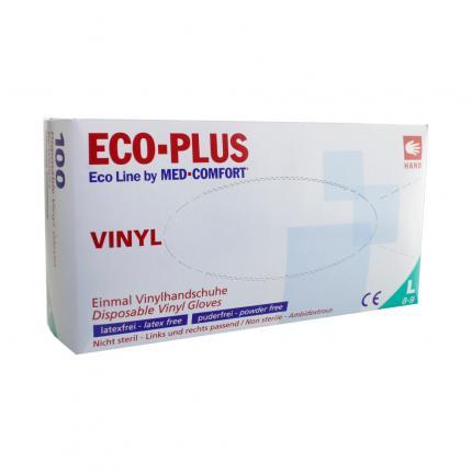 ECO-PLUS Größe L Einmal-Vinyl Untersuchungshandschuhe