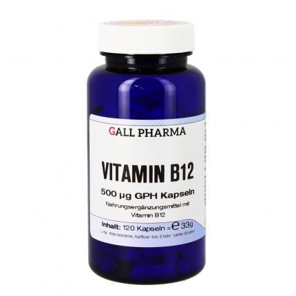 Vitamin B12 500 µg Gph Kapseln