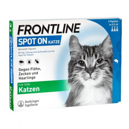 FRONTLINE SPOT ON KATZE