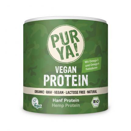 Purya Hanf Protein Bio Pulver