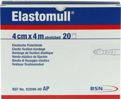 Elastomull 4cmx4m streched Elastische Fixierbinde