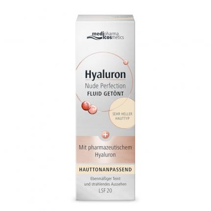 Hyaluron Nude Perfection FLUID GETÖNT LSF 20 Sehr Hell