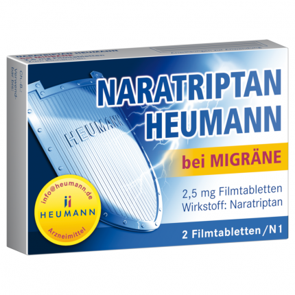 Naratriptan Heumann bei Migräne 2,5mg