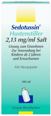 Sedotussin Hustenstiller 2,13mg/ml Saft