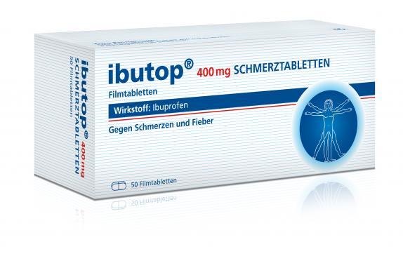 Ibutop 400mg Schmerztabletten