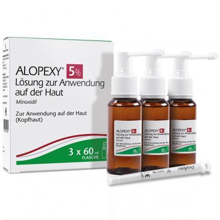 ALOPEXY 5% Lösung zur Anwendung auf der Haut