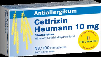 Cetirizin Heumann 10mg