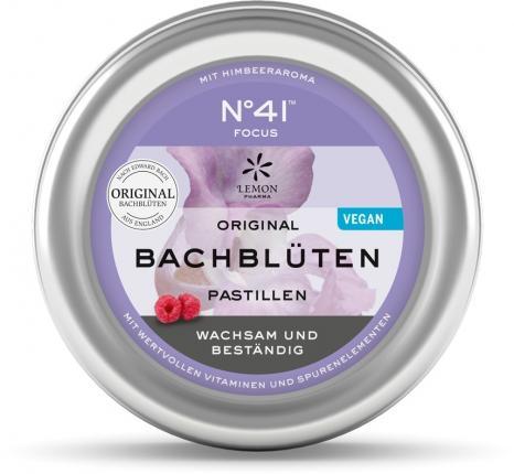 ORIGINAL BACHBLÜTEN PASTILLEN No 41 FOCUS