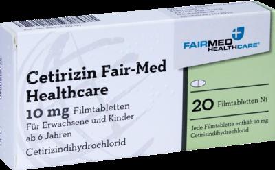 Cetirizin Fair-Med Healthcare 10mg