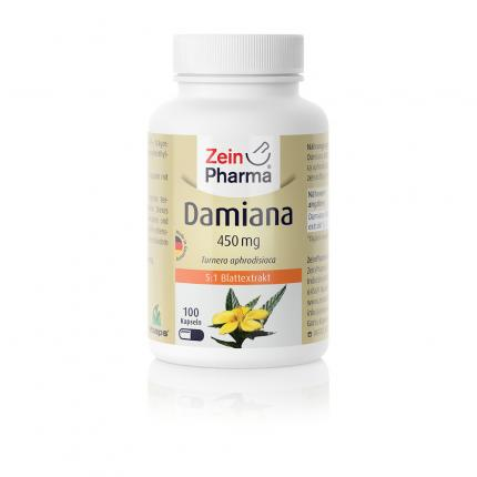 DAMIANA KAPSELN 450 mg 5:1 Blattextrakt