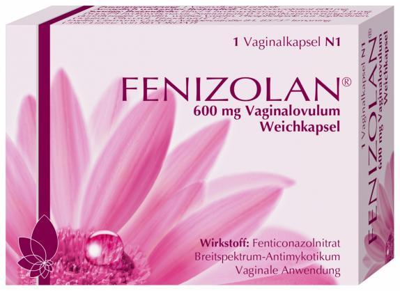 Fenizolan 600mg Vaginalovula
