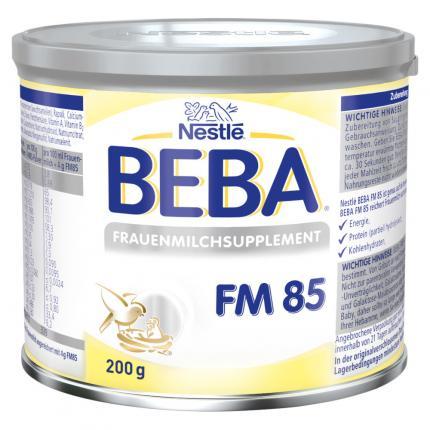 Nestle BEBA FRAUENMILCHSUPPLEMENT FM 85