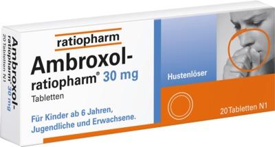 Ambroxol-ratiopharm 30mg Hustenlöser