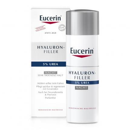 Eucerin Anti-age Hyaluron-filler Urea Nacht Creme