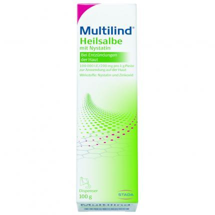Multilind Heilsalbe mit Nystatin und Zinkoxid