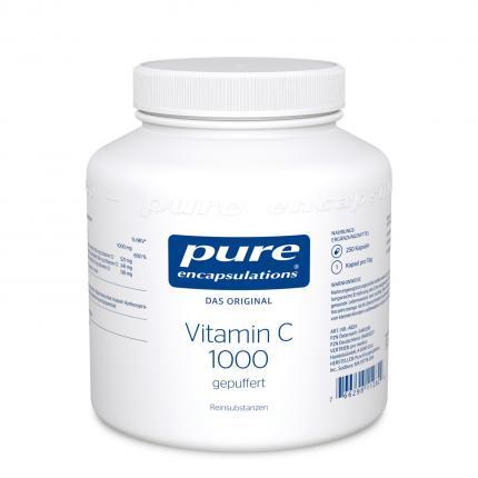 Pure Encapsulations Vitamin C 1000 Gepuffte Kapseln