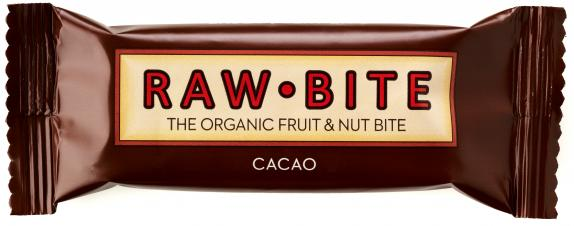 Raw Bite Bio Riegel Cacao
