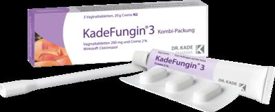 Kadefungin 3 Kombipackung 20 g Creme + 3 Vaginaltabletten