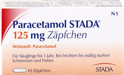 Paracetamol STADA 125mg