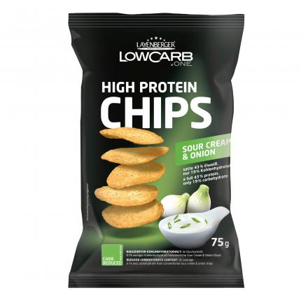 LOWCARB.ONE HIGH PROTEIN CHIPS SOUR CREAM& ONION