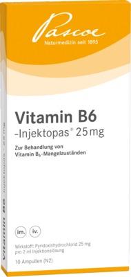 VITAMIN B6 Injektopas 25 mg Injektionslösung