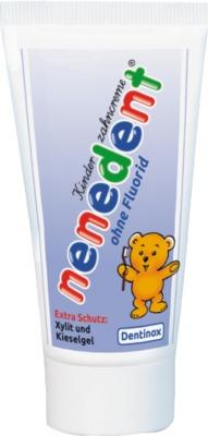 NENEDENT Kinderzahncreme ohne Fluorid