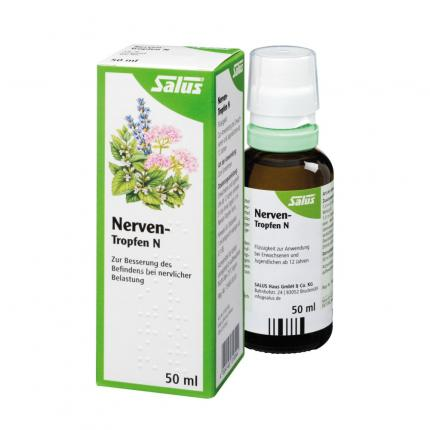 NERVEN-TROPFEN N Bio Salus