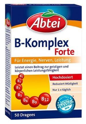 Abtei Vitamin B Komplex forte überzogene Tabletten