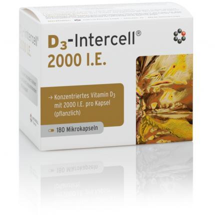 D3-INTERCELL 2.000 I.E. Kapseln