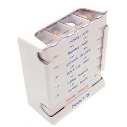 PILLMATE 7 Tage Medikamenten Dispenser