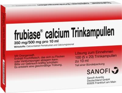Frubiase Calcium 350mg/500mg