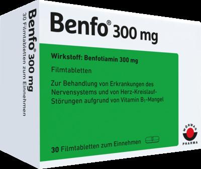BENFO 300 mg Filmtabletten