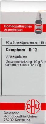 CAMPHORA D 12 Globuli
