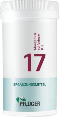 Biochemie Pflüger 17 Manganum sulfuricum D 6 Tabletten