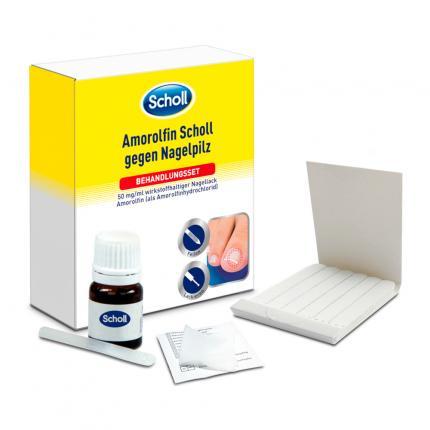 SCHOLL Amorolfin Nagelpilz Behandlungsset