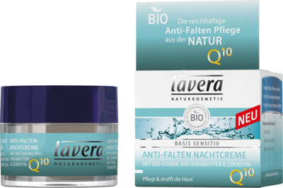 LAVERA basis sensitiv Nachtcreme Q10 dt