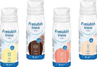 FRESUBIN ORIGINAL DRINK Mischkarton Trinkflasche