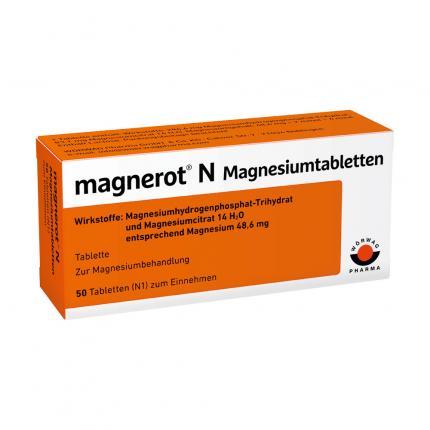 MAGNEROT N Magnesiumtabletten