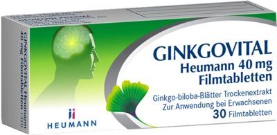 GINKGOVITAL Heumann 40mg