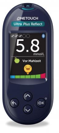 One Touch Ultra Plus Reflect Blutzuckermess.mmol/l
