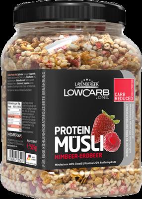 LAYENBERGER LowCarb.one Müsli Himbeer-Erdbeer