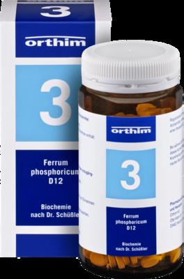 BIOCHEMIE Orthim 3 Ferrum phosphoricum D 12 Tabl.