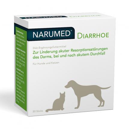 Narumed Diarrhoe Pulver-sticks F.hunde/katzen