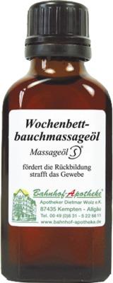 Wochenbettbauchmassageöl