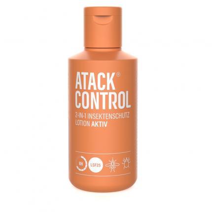 ATACK Control Insektenschutz Lotion AKTIV+LSF 25
