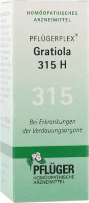 PFLÜGERPLEX Gratiola 315 H Tabletten