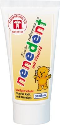 nenedent Kinderzahncreme mit Fluorid Standtube