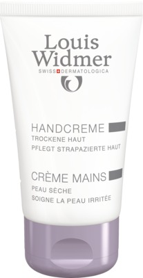 WIDMER Hand Creme leicht parfümiert