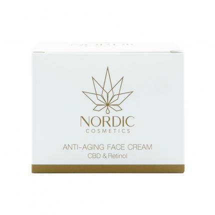 NORDIC Cosmetics CBD Anti Aging Creme