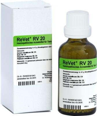 REVET RV 20 Globuli vet.